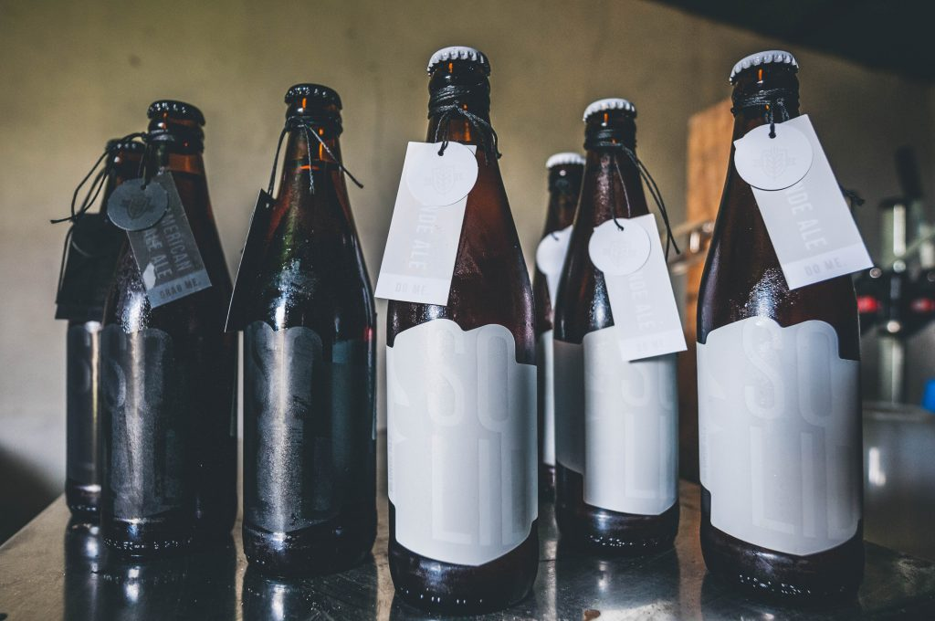 Broers Brew's SOLID craft beer range.