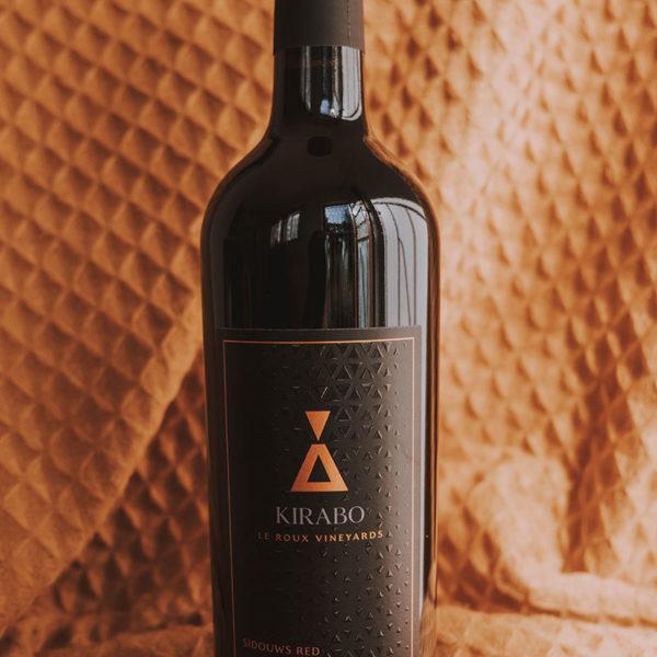 Kirabo Sidouws Red Blend Bottle