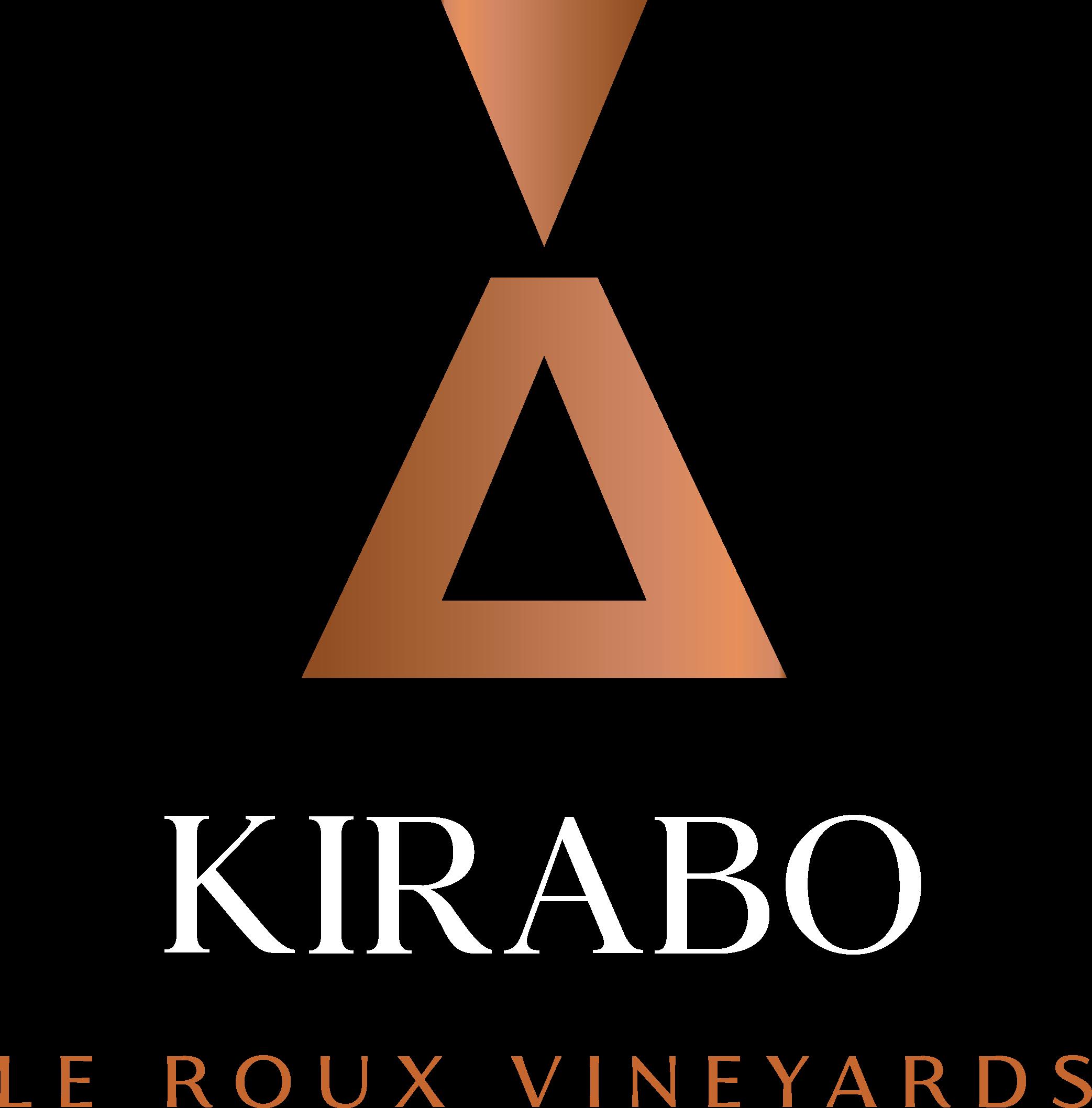 Kirabo Le Roux Vineyards Copper Logo